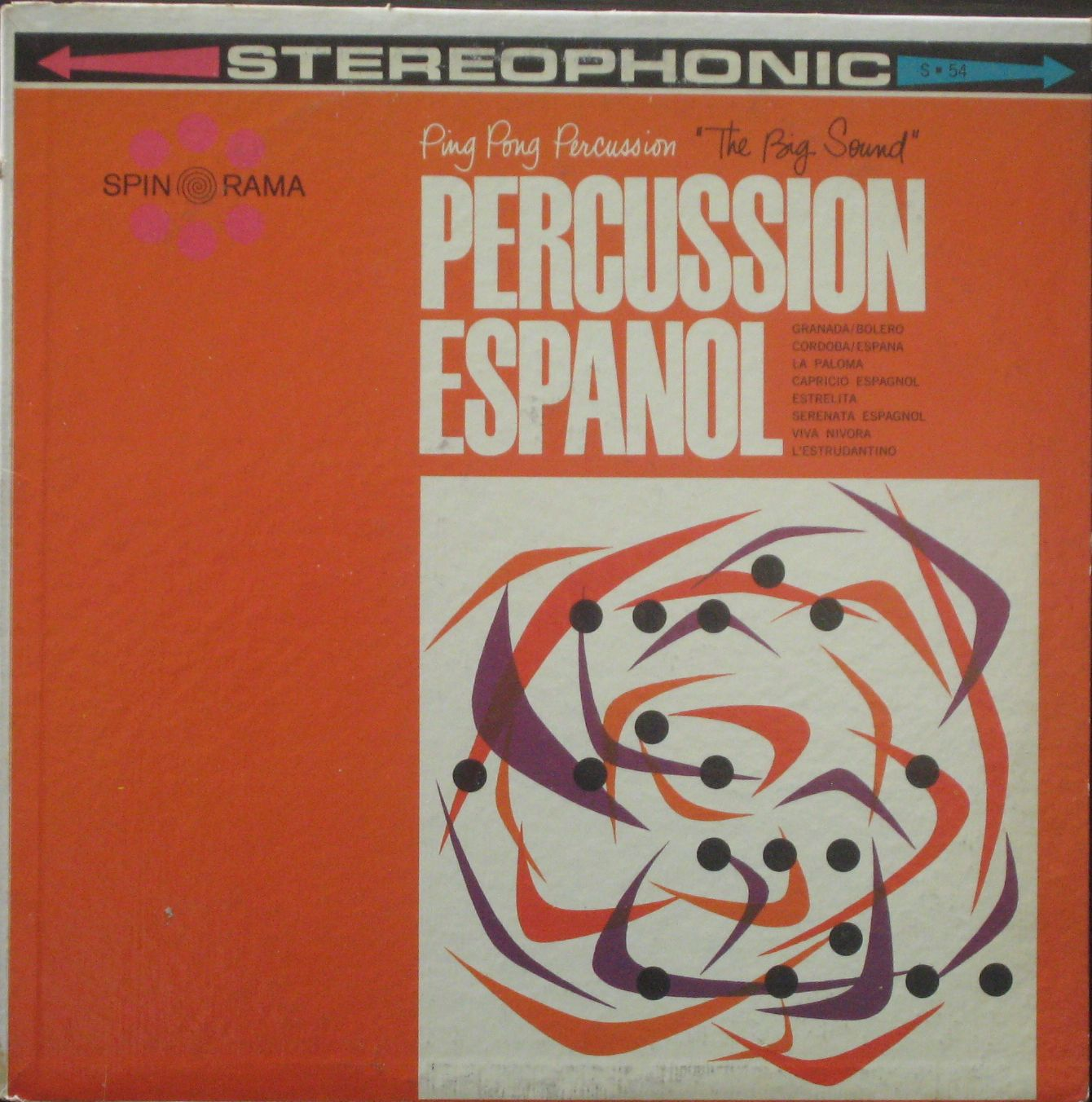 Percussion Espanol Side 1 (MP3) | The Cross Pollinator