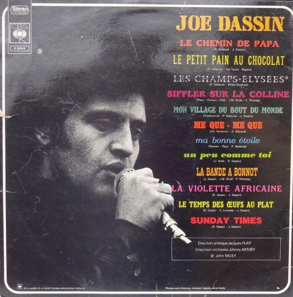 JoeDassin_Back