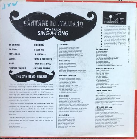 CantareInItalianoB
