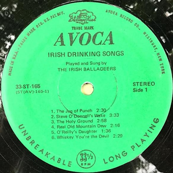 IrishBalladeers_IrishDrinkingSongsSide1