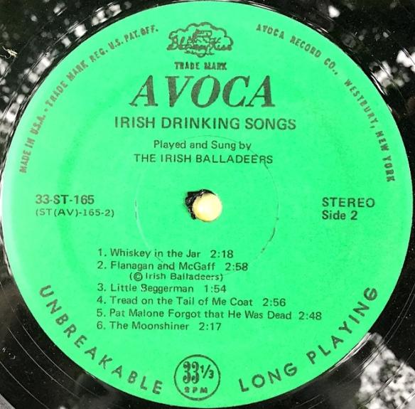 IrishBalladeers_IrishDrinkingSongsSide2