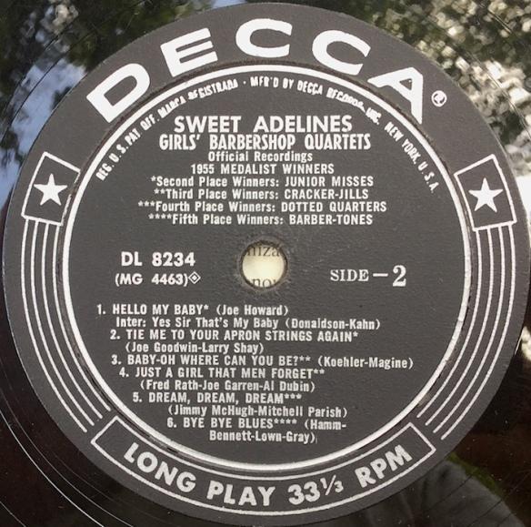 SweetAdelines_1955Side2