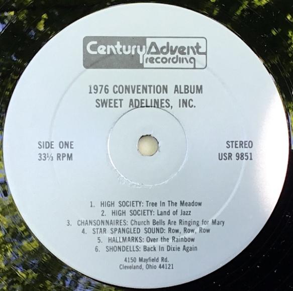 SweetAdelines1976_Side1