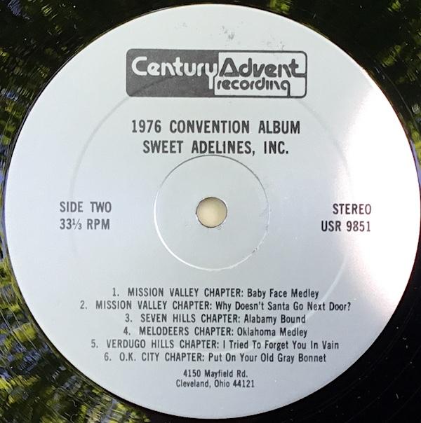 SweetAdelines1976_Side2