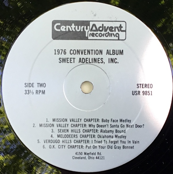 SweetAdelines1976_Side2